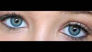 Yeux Verts Rares : tutoriel maquillage yeux vert gris ~ Nature-et-papiers.com Idées de Décoration