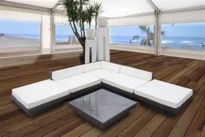 Garten Xxl De : rattan lounge sofa sitzgruppe aus polyrattan ~ Bigdaddyawards.com Haus und Dekorationen