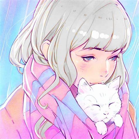 Wallpaper 1080x1080 Px Anime Girls Artwork Ilya