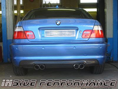 custom quad exhaust system   series bmw