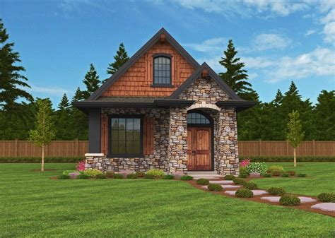 Small Lodge House Designs With