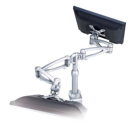 Monitor Stands For Desk Uk by Desk Mount Monitor Arm La 615 1 For 2 Monitors