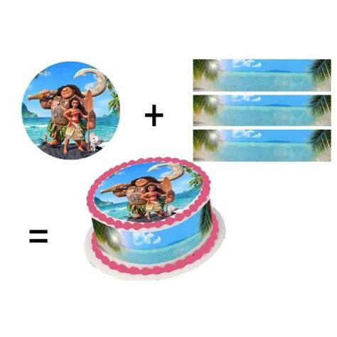 ustensile cuisine discount kit déco de gâteau vaiana achat vente ustensiles