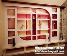 Gypsum Wall Decoration And Shelves For Living Room Interior Design New Home Designs Latest Wooden Wall Interior Designs Decor Ideas Artistic Ceiling Light Design For Excellent Interior Decor Interior Wall Colors