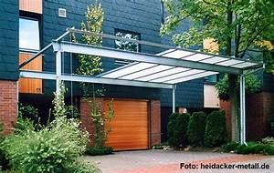 Moderne Carports Mit Glasdach : metall carport carport tipps vom fachmann ~ Markanthonyermac.com Haus und Dekorationen