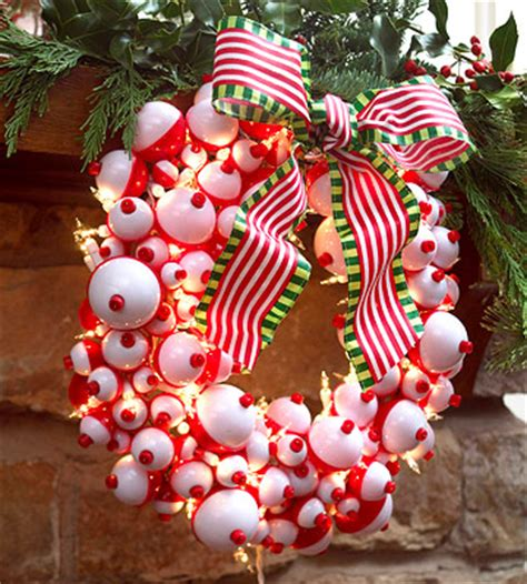 fish bobber wreath pictures   images