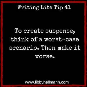 A fundamental task in creating suspense is to confront ...