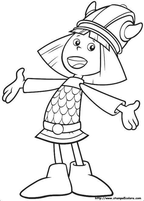disegni da colorare vicky il vichingo mamme magazine