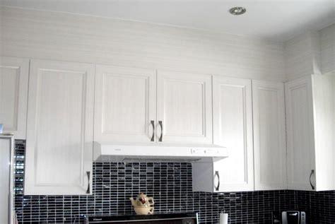 portes de cuisine resurfaçage d armoires et de portes de cuisine défi design rénovation générale resurfacage