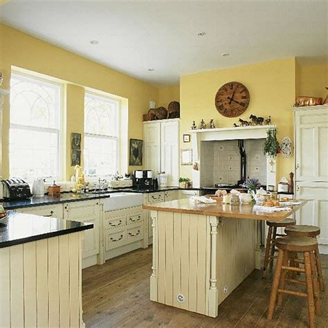 And Yellow Kitchen Ideas by Yellow Country Kitchen Kitchen Makeover Yellow Kitchen