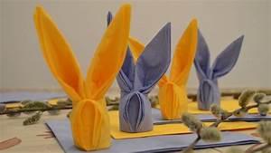 Pliage Serviette Lapin Simple : pliage de serviettes en papier pour n importe quelle occasion ~ Melissatoandfro.com Idées de Décoration