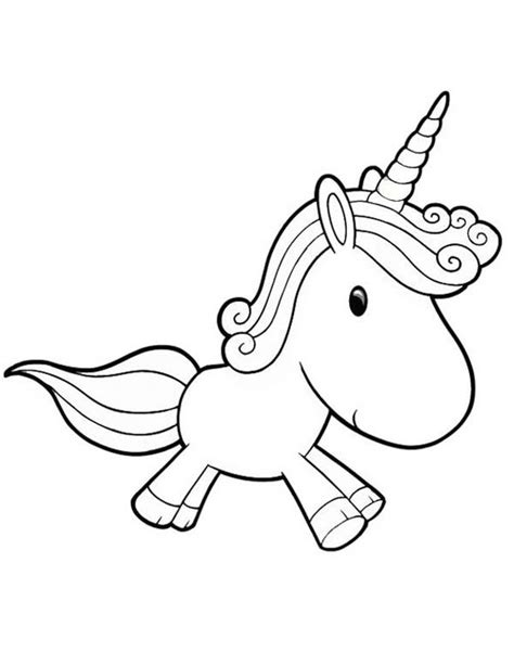 Kleurplaat Unicorn by Unicorn A Lovely Unicorn Doll For Coloring