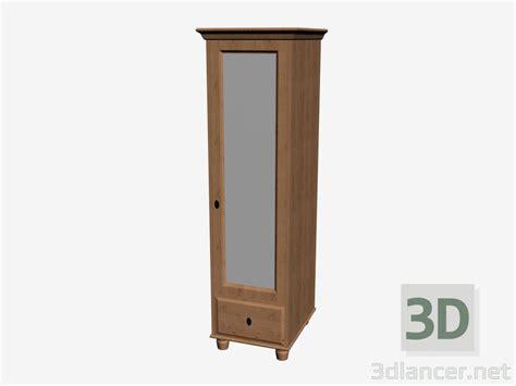 3d Model Wardrobe 1 Door Manufacturer Ikea Id 16217