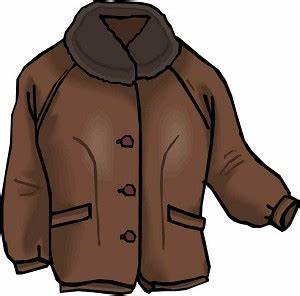 Coat clipart brown - Pencil and in color coat clipart brown