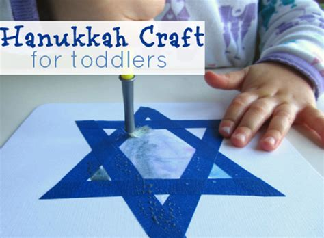 hanukkah craft for toddlers and 603 | hanukkahcraftfortoddlers 1