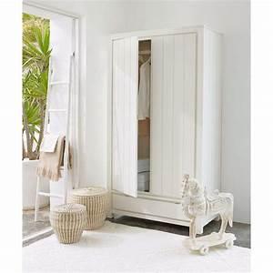 Dressing Maison Du Monde : dressing en pin massif blanc white maisons du monde ~ Nature-et-papiers.com Idées de Décoration
