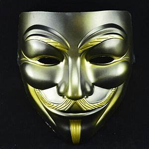 10pcs Halloween Cool Masks V For Vendetta Anonymous Movie ...
