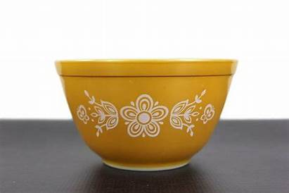 Mixing Butterfly Bowls Pyrex Gold Bowl