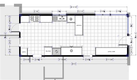 Galley Kitchen Layout Plans. Small Galley Kitchen Designs