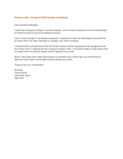 sample memo change business hours sample business letter
