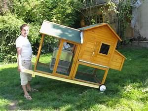 fiche bricolage le poulailler roulotte astuce With maison en palette plan 4 poulaillers en palettes et autres recups
