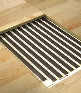 Parquet Sol Chauffant : pose de parquet sur plancher chauffant tresco ~ Melissatoandfro.com Idées de Décoration