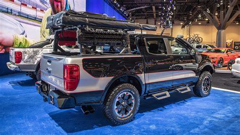 ford ranger shows     customized  sema