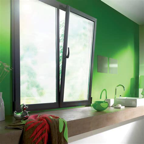 cuisine tout réalisation fenêtre de cuisine en aluminium gris avec vitrage opaque menuiserie bpsc océane