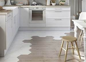 carrelage les dernieres tendances marie claire With carreaux de ciment exterieur 17 carrelage hexagonal blanc sol et mur parquet carrelage