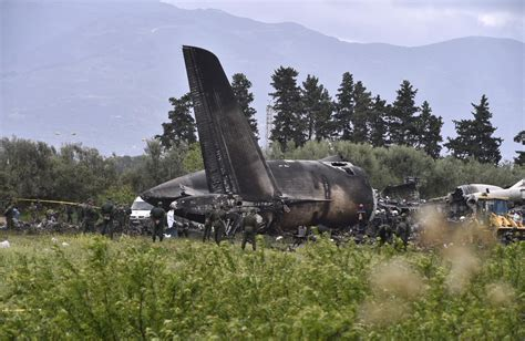 Military Plane Crash Kills 257 In Algeria's Deadliest