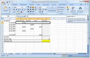 Excel Tabelle Summe Berechnen : rechnen und automatische formelerstellung in excel ~ Themetempest.com Abrechnung