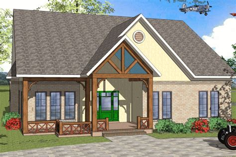 Craftsman Style House Plan 3 Beds 2 Baths 2289 Sq/Ft