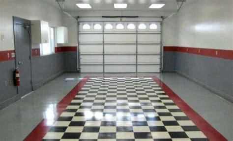 benefits  vinyl composite tile vct garage flooring