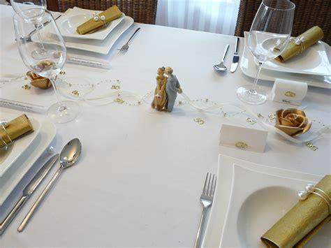 goldene hochzeit tischdeko  tischdekoration