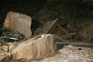 Rock slide destroys home s two in rockville the