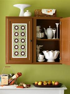 diy kitchen cabinet ideas 10 easy cabinet door makeovers With best brand of paint for kitchen cabinets with circle wall stickers