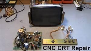 Cnc Crt Monitor Repair