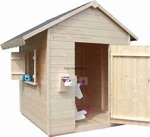 Cabane En Bois De Jardin : achat cabane jardin enfant en bois promotion maisonnette ~ Dailycaller-alerts.com Idées de Décoration