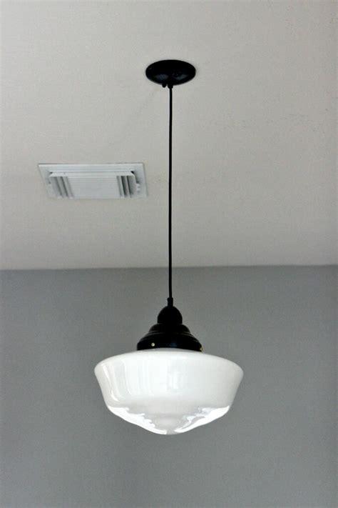 schoolhouse pendant light solution gray house studio