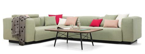 Soft Modular Sofa Three-seater, Corner Element