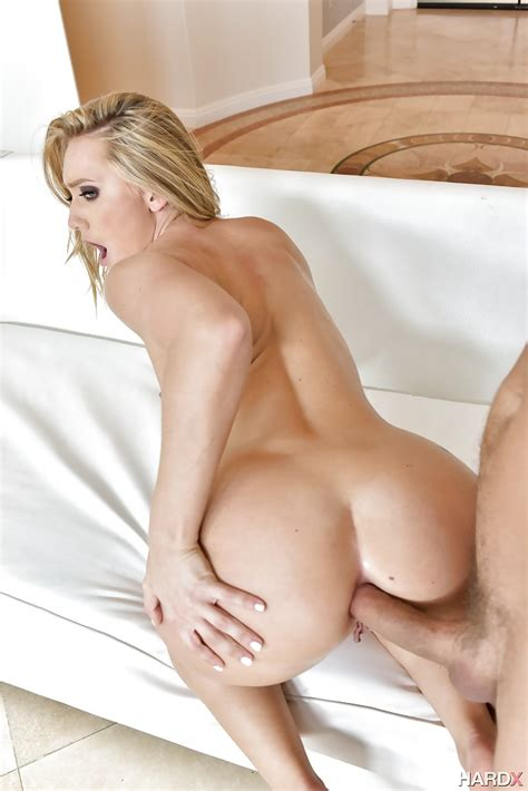 Blonde Pornstar Aj Applegate Taking Hardcore Butt Fucking