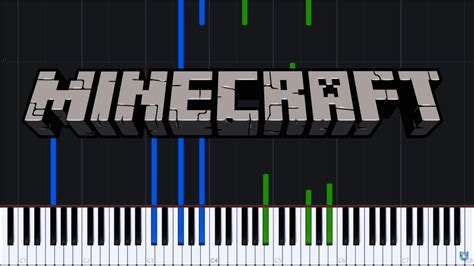 Theme Song  Minecraft [piano Tutorial] (synthesia