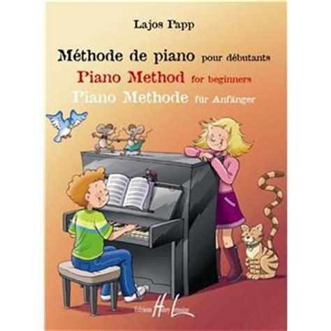 methode de piano pour debutants papp lajos papp lajos