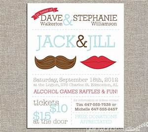 best 25 jack and jill ideas on pinterest stag and doe With jack and jill tickets templates