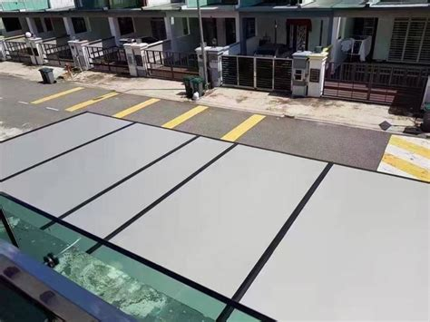 aluminium composite panel acp transparent sheet roofing johor bahru jb mount austin supplier