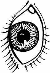 Eyes Scary Drawing Spooky Coloring Clip Hop Sock Clipartmag sketch template