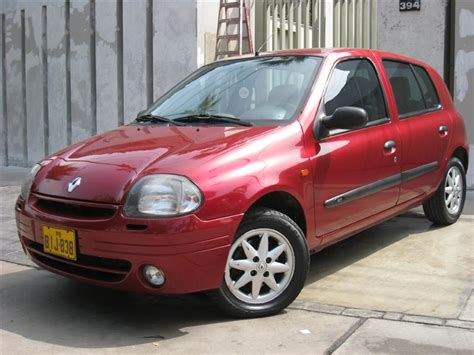 renault clio 2000 renault clio ii rt 2000 2001 impecable