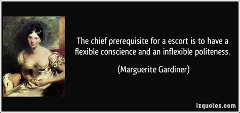 chief prerequisite   escort     flexible
