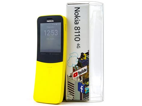 nokia 8110 4g cell phone review notebookcheck net reviews