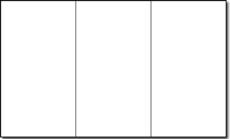 Free Blank Tri Fold Brochure Templates (1) | Best Agenda Templates
